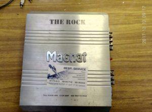 Усилитель Magnat The Rock 400 - не работает после другого мастера