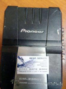 Усилитель Pioneer GM-3300T - не включается