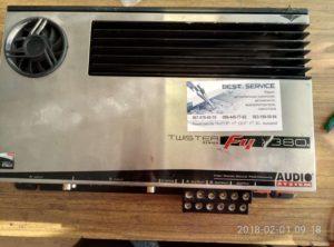 Автоусилитель Twister F4-380 - в защите, не включается