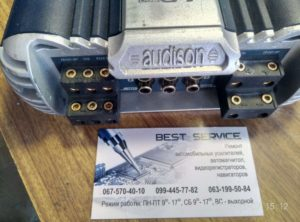 Автоусилитель Audison LRx5 - в защите, не работает