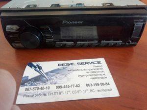 Автомагнитола Pioneer MVH-07UBG - не включается после перенапряжения в бортовой сети