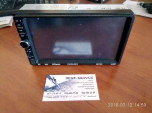 Автомагнитола Cyclon MP-7021 - не включается, нет звука