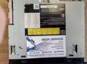 Автомагнитола JVC KW-AVX70BT - разбит сенсор, замена сенсора