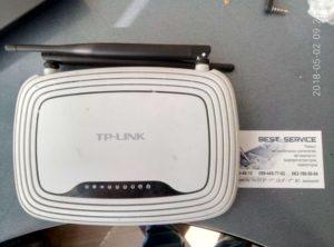 Роутер TP-LINK WR841N - не включается, нет WEB интерфейса