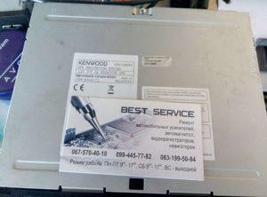Автомагнитола Kenwood DNX-7280BT - висит на заставке
